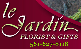 Le Jardin Florist Palm Beach Gardens - North Palm Beach Flowers since 1986