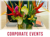 Corporate Events Flower Arrangements