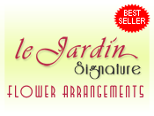 Le Jardin Signature Flower Arrangements