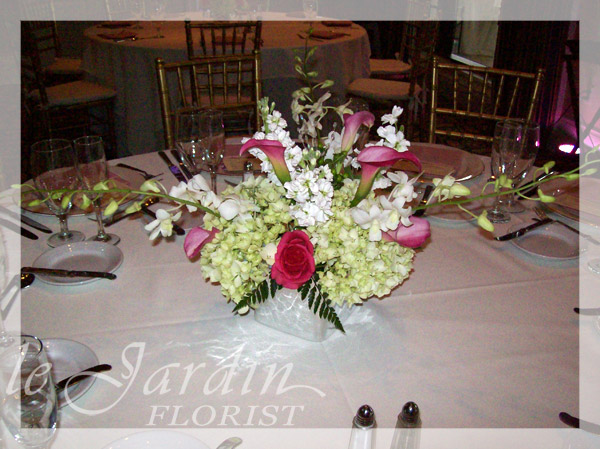 Wedding florist palm beach wedding flowers by le jardin for Arrangement jardin