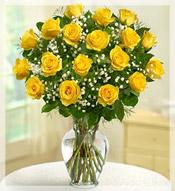 Roses rose flower arrangements by le jardin florist 2 dz premium long stem yellow roses arrangement mightylinksfo
