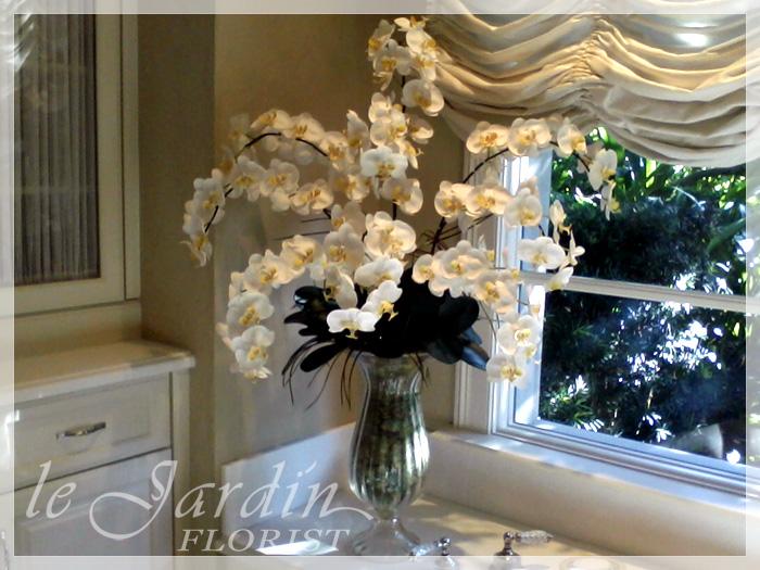 Artificial silk flower arrangements silk flowers plants silk flower arrangement by le jardin florist mightylinksfo